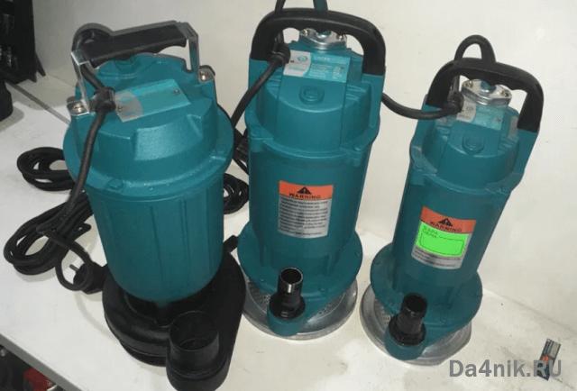 поверхностный насос для полива газона