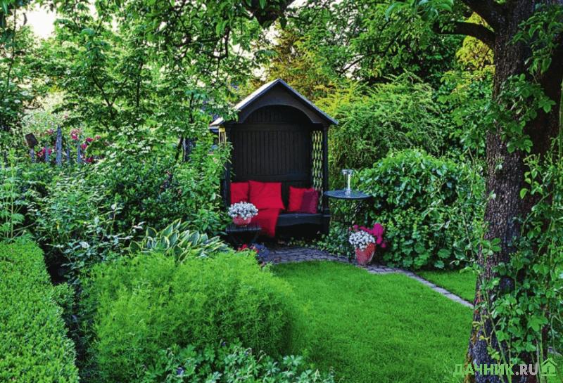 Уютный уголок на даче