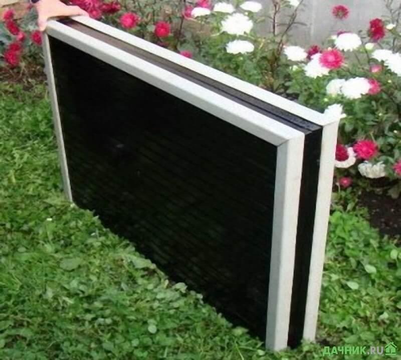 Складной стол для пикника в виде чемодана